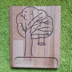 Planche de dénombrement arbre